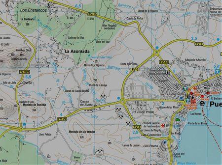 FUERTEVENTURA mapa turystyczna 1:50 000 KOMPASS 2020 (2)