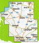 PARYŻ - PIKARDIA mapa rowerowa 1:150 000 ADFC 2021 (2)