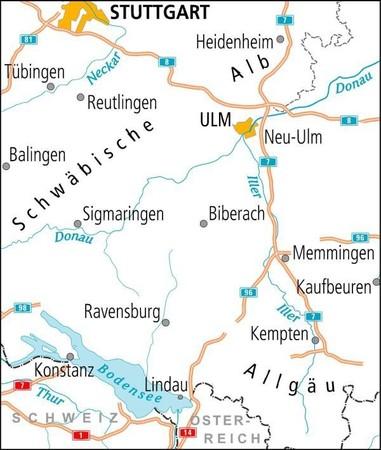 JEZIORO BODEŃSKIE / JURA SZWABSKA mapa rowerowa ADFC 2021 (2)