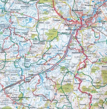 HAVELLAND / MAGDEBURGER BORDE mapa rowerowa ADFC 2021 (2)