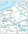 WYBRZEŻE BAŁTYKU / MEKLENBURGIA mapa rowerowa ADFC 2021 (2)