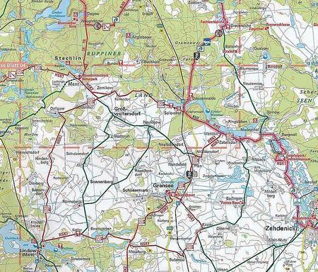 LUNEBURGER HEIDE / HANNOVER mapa rowerowa ADFC 2021 (4)