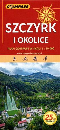 SZCZYRK I OKOLICE mapa turystyczna 1:25 000 COMPASS 2022 (1)