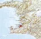 ISLANDIA mapa ścienna 1:350 000 FERDAKORT 2021 (3)