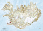 ISLANDIA mapa ścienna 1:350 000 FERDAKORT 2021 (2)