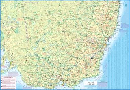 NOWA POŁUDNIOWA WALIA / TASMANIA mapa ITMB 2021 (2)