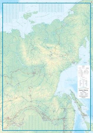 KAMCZATKA / ROSJA DALEKI WSCHÓD mapa ITMB 2020 (2)