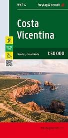 COSTA VICENTINA mapa turystyczna 1:50 000 FREYTAG & BERNDT 2021