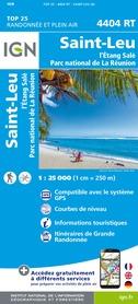 SAINT-LEU / L'ETANG-SALE - REUNION mapa turystyczna IGN 2020