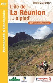 REUNION L'île de la Réunion à pied 25PR FFRP 2020