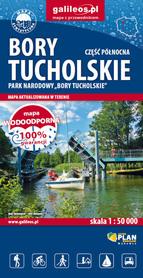 BORY TUCHOLSKIE mapa wodoodporna 1:50 000 STUDIO PLAN 2021/2022