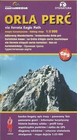 ORLA PERĆ via ferrata mapa turystyczna 1:5 000 SYGNATURA
