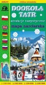 DOOKOŁA TATR mapa narciarska 1:100 000 Sygnatura