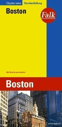 BOSTON 1:15 000 plan miasta FALK VERLAG