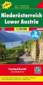 DOLNA AUSTRIA mapa 1:150 000 FREYTAG & BERNDT