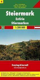 STYRIA mapa 1:200 000 FREYTAG & BERNDT