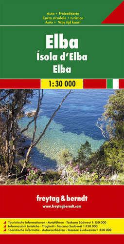 ELBA  mapa 1:30 000 / 1:150 000 FREYTAG & BERNDT