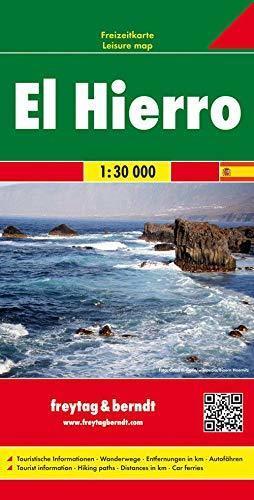 EL HIERRO mapa 1:30 000 FREYTAG & BERNDT 2019