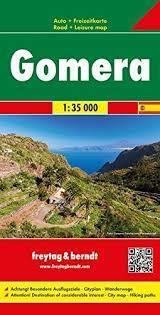 LA GOMERA mapa samochodowa 1:35 000 FREYTAG & BERNDT