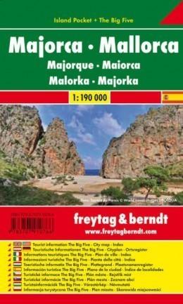 MAJORKA mapa laminowana 1:190 000 FREYTAG & BERNDT