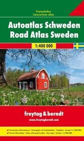 SZWECJA Supertouring atlas samochodowy 1:400 000 Freytag & Berndt