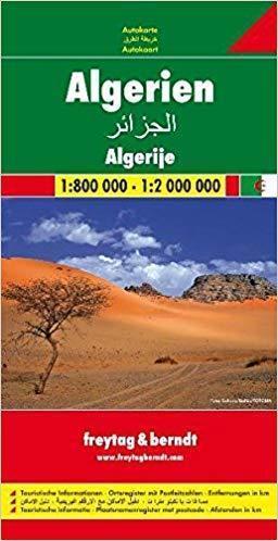 ALGIERIA mapa samochodowa 1:800 000 / 1:2 000 000 FREYTAG & BERNDT