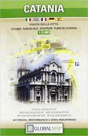 CATANIA KATANIA plan miasta 1:12 000 LAC WŁOCHY