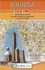 BOLONIA BOLOGNA plan  miasta 1:14 000 GLOBALMAP
