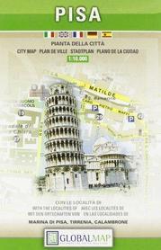 PIZA PISA plan miasta 1:10 000 LAC WŁOCHY