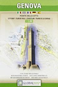 GENOVA GENUA plan miasta 1:12 000 LAC WŁOCHY