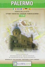 PALERMO plan miasta 1:10 000 LAC WŁOCHY