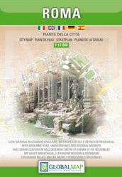 RZYM ROMA plan miasta 1:17 000 LAC WŁOCHY