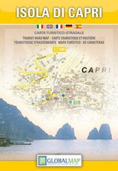 WYSPA CAPRI mapa turystyczna 1:7 500 LAC WŁOCHY