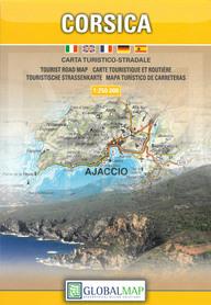 KORSYKA (FRANCJA) mapa turystyczna 1:250 000  LAC WŁOCHY