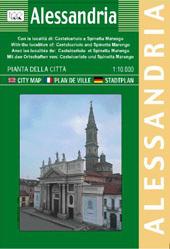 ALESSANDRIA plan miasta 1:10 000 LAC WŁOCHY