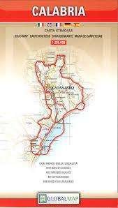 CALABRIA KALABRIA mapa samochodowa regionu 1:250 000 LAC WŁOCHY