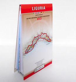 LIGURIA mapa samochodowa regionu 1:250 000 LAC WŁOCHY