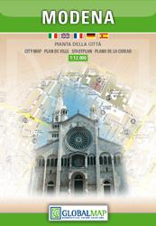 MODENA plan miasta 1:12 000 LAC WŁOCHY