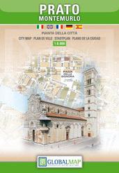 Prato - Montemurlo plan miasta 1:12 000 LAC WŁOCHY