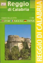 Reggio di Calabria  plan miasta 1:7 000 LAC WŁOCHY