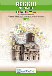 Reggio nell'Emilia  plan miasta 1:11 000 LAC WŁOCHY