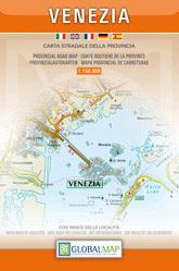 WENECJA mapa samochodowa prowincji 1:150 000 LAC