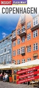 KOPENHAGA plan miasta laminowany 1:12 500 INSIGHT