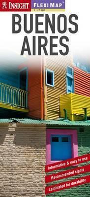 BUENOS AIRES plan miasta laminowany 1:17 500