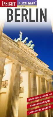 BERLIN plan miasta laminowany 1:20 000 INSIGHT 2011