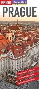 PRAGA plan miasta laminowany 1:12 500 INSIGHT