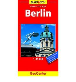 BERLIN plan miasta 1:15 000 GEOCENTER / FALK