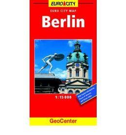 BERLIN plan miasta 1:15 000 GEOCENTER / FALK