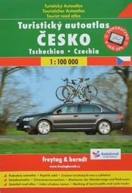 CZECHY turystyczny atlas samochodowy 1:100 000 FREYTAG & BERNDT
