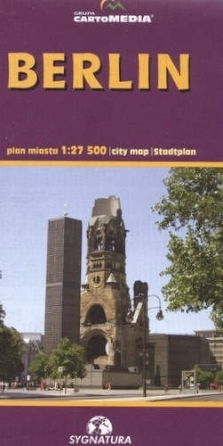 BERLIN plan miasta 1:27 500 wyd. Sygnatura